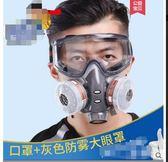 防塵口罩電焊面罩化工噴漆農藥裝修防甲醛氣體工業粉塵防毒面具   莉卡嚴選