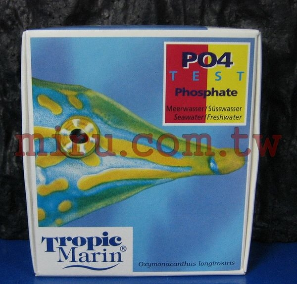 【西高地水族坊】Tropic Marin 磷酸鹽(PO4)測試劑