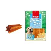 寵物家族-K.C.DOG 蔬菜六角潔牙骨 起司+雞肉 300g (短) G34-3