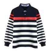 『小鱷魚童裝』條紋POLO衫(08號~18號)532108