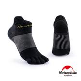 Naturehike 暖笙coolmax快乾排汗運動機能五指襪 黑色L