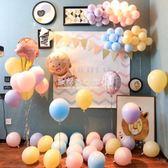 七夕情人節  寶寶滿月百天百日宴布置生日裝扮100天氣球背景墻裝飾套餐  『歐韓流行館』