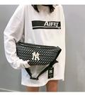 洋基NY 男女款 單肩 胸包 側背包 腰包 背包 帆布包 韓國製/澤米(全館任二件商品免運費)