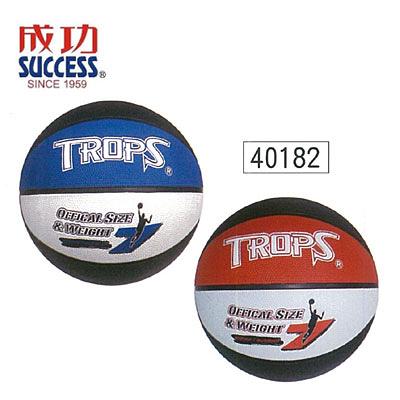 成功 SUCCESS 40182 三色刻字籃球 / 顆