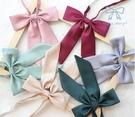 兩條 JK純色暗斜紋小長柄學院風領結 襯衫制服配飾蝴蝶結領花