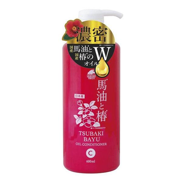 馬油+茶油保濕潤濕精 (600ml)