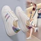 小白鞋日系小白鞋女鞋2021秋季新款百搭學生白鞋平底休閒帆布鞋運動鞋女 愛丫 新品