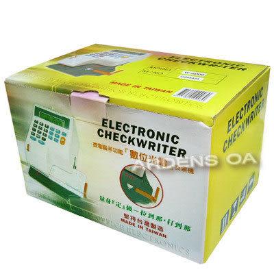 世尚VERTEX W-6000 數位光電支票機~另有W-3000/W-8000/EC-55/EC-10