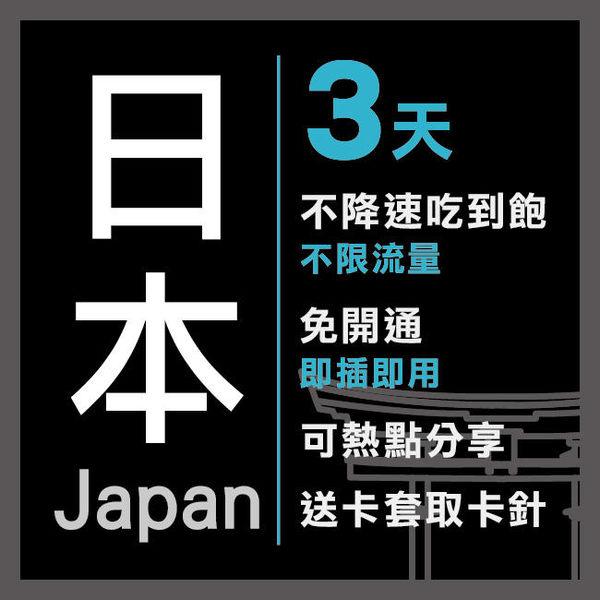 現貨 日本境內 通用 3天 Softbank電信 4G不降速 免設定 免開卡 隨插即用 上網 上網卡 網路 網路卡