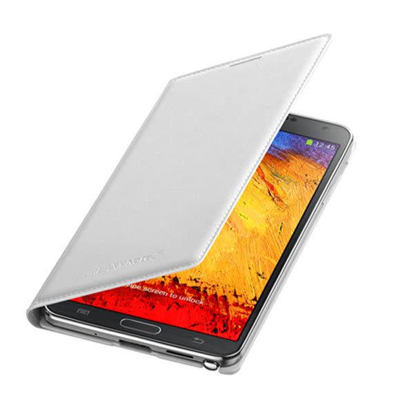 三星原廠配件 -SAMSUNG GALAXY Note 3 皮革翻頁式皮套N9000 N9005 側掀電池背蓋殼