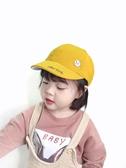兒童帽子女童鴨舌春夏季男寶寶短檐棒球帽小女孩遮陽太陽帽韓版潮