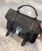 ■專櫃55折■全新真品■Proenza Schouler H00091 PS1 Tiny 山羊皮小款兩用包 黑色