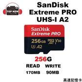 SANDISK EXTREME PRO microSD UHS-I 256G 記憶卡 【台南-上新】 TF-256G-170/90MB 適用 GoPro