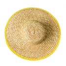 大草帽農民沙灘戶外遮陽夏防曬工地女大檐大沿男草帽子太陽農用帽 夢幻小鎮