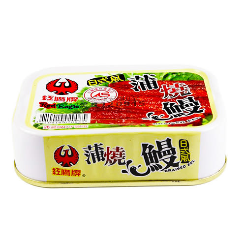 紅鷹牌-日式風蒲燒鰻(100gx3入)