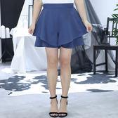 中大尺碼~優雅A字修身半身褲裙(XL~4XL)
