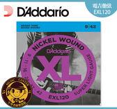【小麥老師樂器館】電吉他弦 達達里奧 DAddario EXL120 (09-42) 全新包裝 吉他弦【T58】