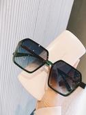 太陽鏡女防紫外線2020時尚大框素顏無框墨鏡小紅書抖音網紅款眼鏡