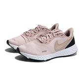 NIKE REVOLUTION 5 慢跑鞋 粉金 網布 運動 健身 女 (布魯克林) BQ3207-600