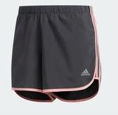 Adidas Marathon 20女款灰色慢跑短褲-NO.FL7827