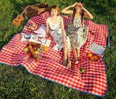 探險者戶外便攜春游墊子加厚防潮墊野餐墊野炊地墊草坪露營野餐布 創意家居生活館