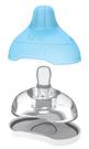 GMP BABY Kiinde - 奶瓶轉接殼專用奶嘴附收納盒 中等4-12月(二入)