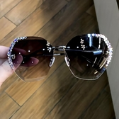 圓臉街拍防曬偏光眼鏡防紫外線太陽鏡女