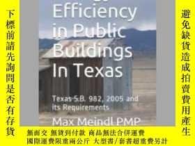 二手書博民逛書店Energy罕見Efficiency in Public Buildings In TexasY405706
