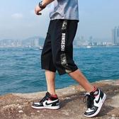 工裝短褲男潮牌寬鬆學生大碼韓版潮流夏季休閒運動沙灘七7分褲子
