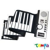 【Tempa】MIDI61鍵矽膠手捲鋼琴/電子琴