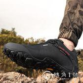 登山鞋男夏季透氣戶外男鞋防水防滑爬山鞋子女輕便越野旅行徒步鞋