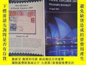 二手書博民逛書店PACIFIC罕見EXPLORER 2005: PALMARES BOOKLET(23 April 2005)(詳