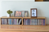實木CD收納盒胡桃木