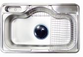 【麗室衛浴】吧檯廚房專用不銹鋼 防蟑 防臭 水槽 PDS 850P  尺寸:850*515*205mm
