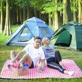 野餐墊便攜防潮防水游墊子加厚加大超輕可折疊日式ins風野餐布    名購居家