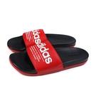 adidas 拖鞋 戶外 紅/黑 男鞋 FX4288 no889