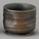 日本陶瓷【美濃燒】備前吹 清酒杯 Sake