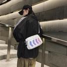 日系韓版蹦迪小包包男女簡約小挎包街頭嘻哈背包學生單肩包女