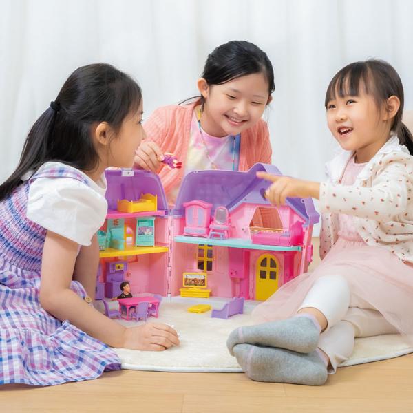 Baby Blush親親寶貝手提幸福家庭娃娃屋組