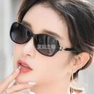 新款太陽鏡女墨鏡女士眼鏡圓臉小框時尚韓版偏光防紫外線可配近視