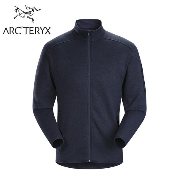 【ARC TERYX 始祖鳥 男 Covert刷毛外套《途易雜藍》】24089/刷毛外套/中層衣/保暖外套