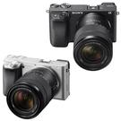 贈電池+32G高速卡+座充+吹球清潔組+保護貼 SONY 單眼相機 A6400M 單鏡組(公司貨) ILCE-6400M A6400