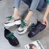 增高鞋 運動鞋女韓版ulzzang原宿百搭內增高女鞋新款休閒厚底老爹鞋 唯伊時尚