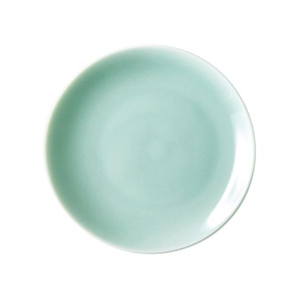 安達窯 青瓷 平面盤-8吋