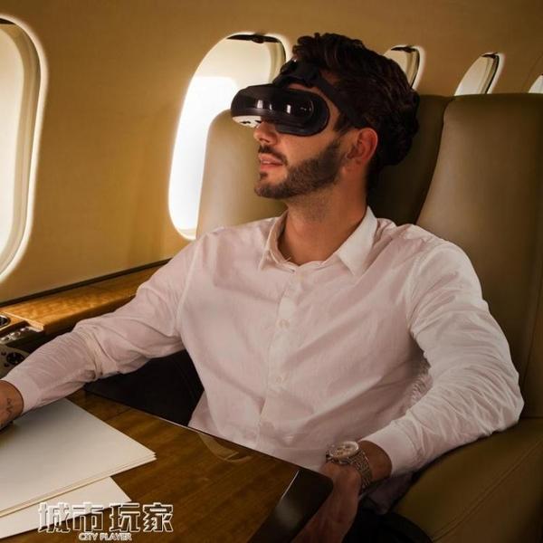VR眼鏡 【4K影院】嗨鏡H2智慧視頻3D眼鏡全景頭戴式頭盔VR一體機虛擬現實 mks聖誕節