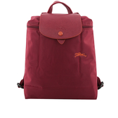 【LONGCHAMP】LE PLIAGE CLUB尼龍折疊後背包(石榴石紅色) L1699 619 209