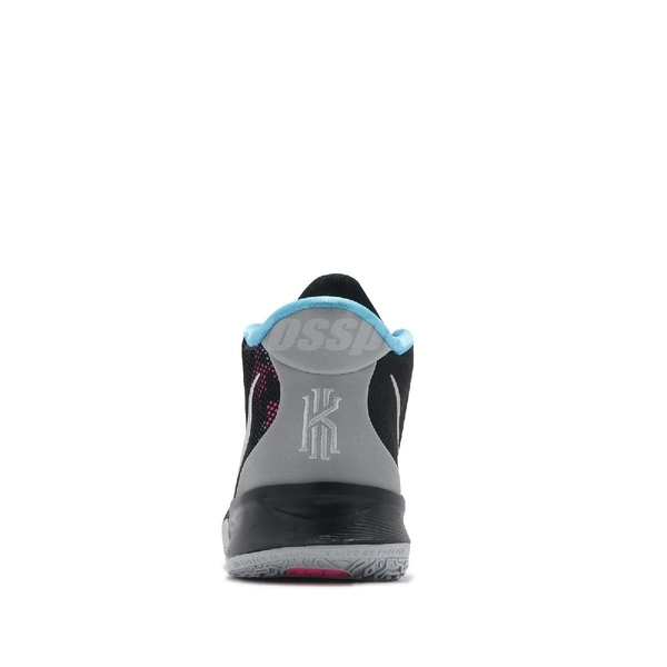 Nike 籃球鞋 Kyrie 7 GS 黑 銀 大童鞋 女鞋 反光 厄文 KI7【ACS】 CT4080-008