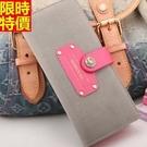 女用真皮長夾錢包時尚風靡-潮流時髦韓國皮包5色53q1【巴黎精品】