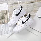 IMPACT Nike Air Force 1 日本限定 白 黑 金 皮革 金勾 黑勾 CZ0270-102