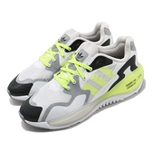 adidas 休閒鞋 ZX Alkyne 白 黃 螢光黃 男鞋 Boost 緩震中底 三葉草 運動鞋 【ACS】 FX6227